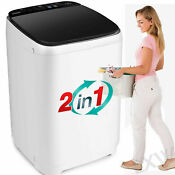 New Full Automatic Washing Machine Portable Washer Compact Laundry Spin Dryer