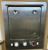 Vintage Stainless Steel Electric Wall Oven Made In Usa