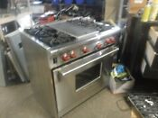 Wolf As36k1 36 Inch Pro Style Gas Range Natural Gas