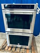 Kitchenaid Double Electric Wall Oven With Convention In Stainless Steel