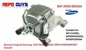 Samsung 10 Kg Washer Washing Machine Motor Wdm500fgb F Dc310v Dc93 00316a Parts