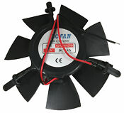 Fisher Paykel Fridge Or Freezer Small Large Fan Motor Dc 12v Without Plug
