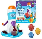 New Taste N Fun Frosty Fruit Slush Machine Sorbet Ice Drink Official Healthy Fun