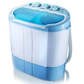 Pyle Compact Portable Washer Dryer Mini Washing Machine And Spin Dryer