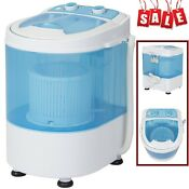 Portable Mini Washing Machine Spin Cycle Clean Laundry Camper Van Travel Wash Us