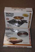 Max Burton 6000 1800 Watt Portable Induction Cooktop Interface Disk New