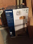 Danby Compact 3 3 Cu Ft Fridge W Freezer White Energy Star Mini Refrigerator
