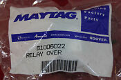 Maytag 61006022 Relay Over Genuine Replacment Part Washer Dryer Oven