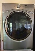 Whirlpool Wfw92hefc 27 Front Load Dryer In Chrome Shadow