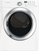 New Frigidaire Affinity Front Load 7 0 Cu Ft Electric Dryer Faqe7072lw White