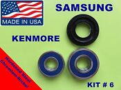 Samsung Front Load Washer 2 Tub Bearings Seal Kenmore Kit 6 Dc62 00223a