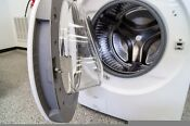 Beautifulnl White Samsungdv5200 Front Loader Washer Dryer Set