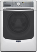 Maytag Maxima 4 5 Cu Ft 27 Stackable Front Load Steam Washer White Mhw7100dw