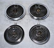 4 Genuine Ge Electric Stove Calrod Burner Elements From A Ge Electric Stove