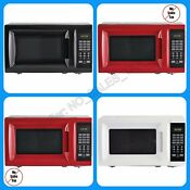 Mainstays 0 7cu Ft Digital Led Countertop Microwave Oven Dorm 700w Kitchen