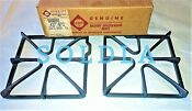 New Oem Genuine 4371872 4372211 Whirlpool Gas Range Stove Burner Grate Set