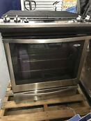 Whirlpool 5 8 Cu Ft Self Cleaning Slide In Gas Convection Range Stainless