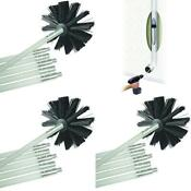 Clean Vent Dryer Brush Flexible 4 Stove Deflecto Cleaning Kit 6 Durable Rods Us