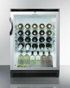 Summit Commercial Wine Cooler Cabinet Swc6gblbi