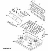 New Oem Ge Range Stove Oven Cast Grate Wb31x26620