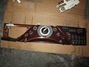 Red Console And Washer User Control And Display Board P W10319815 W10164402 320
