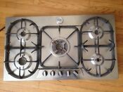 Bertazzoni P34500x 34 Stainless Steel Gas Professional Stovetop Cooktop