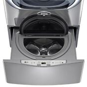 New Lg 30 1 Cf Twin Wash Pedestal Sidekick Washer Graphite Steel Wd200cv