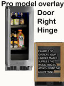 Marvel Mp15bcf3rp Professional Beverage Center Panel Ready Door Right Hinge