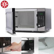 0 9 Cu Ft Countertop Microwave Oven Stainless Steel Front Touch 900 W