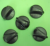 Ge Electric Oven Surface Burner Knob 4 Wb03t10072 1 Wb03t10071 Set Of 5