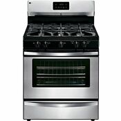 Freestanding Gas Range Stove Stainless Steel Kenmore 73433 4 2 Cu Ft