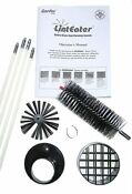 Dryer Vent Cleaning Kit System Clear Cleaner Remover Lint Brush 10 Piece Rotary