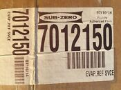 New Sub Zero Oem Sub Zero Part 7012150 Or 7012143 Evaporator Assy 427r Wine Mod