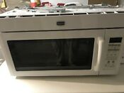 Maytag White 1000 Watt Microwave Convection In Great Shape