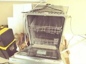Samsung Dw80m2020us 24 Dishwasher Top Control Stainless Steel