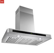 30 Range Hood Kitchen Wall Mount Stainless Steel Led Stove Vents Usa Stock New