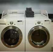 Laundry Guard Front Loading Washer Dryer Adjustable Guard New