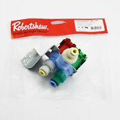 New Whirlpool Kenmore Refrigerator Water Valve Inlet Replacement Parts W10408179