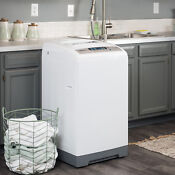 Compact 1 Cu Ft Washer Washing Machine Portable Load Laundry Apartment Clothes