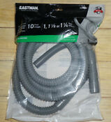 Eastman 10 Ft L 3 4in Inlet X 1 1 4in O D Outlet Pvc Washing Machine Drain Hose