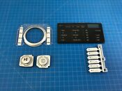 Genuine Kenmore Gas Dryer Control Panel Push Buttons Repair Kit Agl7
