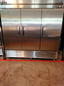 T 72f Used True 3 Door Freezer Includes Free Shipping