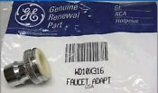 Wd10x316 Ge Portable Dishwasher Faucet Adapter Aerator