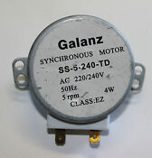 Galanz Microwave Turntable Synchronous Motor Ss 5 240 T 220 240v 50hz 4w
