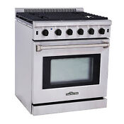 Thor Kitchen Stainless Steel 30 Slide In Gas Range Stove Oven 30 Lrg3001u