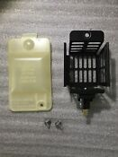 Kenmore 70 Series Electric Dryer Light Socket Black And Cover With Fasteners