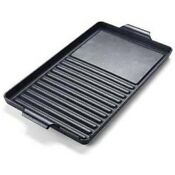 Verona Vegrd100c Cast Iron Grill Griddle Combination