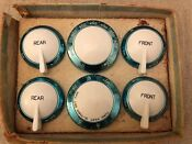 Maytag 40 S Dutch Oven 50 S Gas Range 6 Piece Knob Set Mint Old Stove Parts