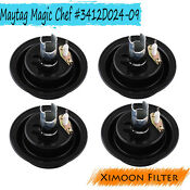4 Pack Assembly Oven Gas Range Burner Stove For Maytag Magic Chef 3412d024 09
