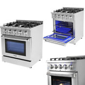 Thor Hrg3080u 1 30 Professional Stainless Steel Gas Range With 4 Burners